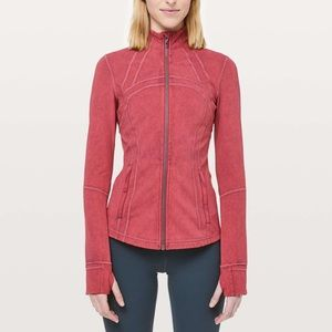 LULULEMON MISTY MERLOT DEFINE JACKET